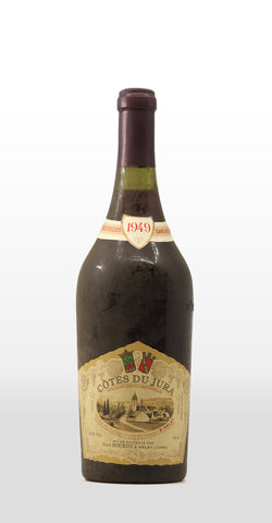 JEAN BOURDY COTES DU JURA ROUGE 1949 750ML