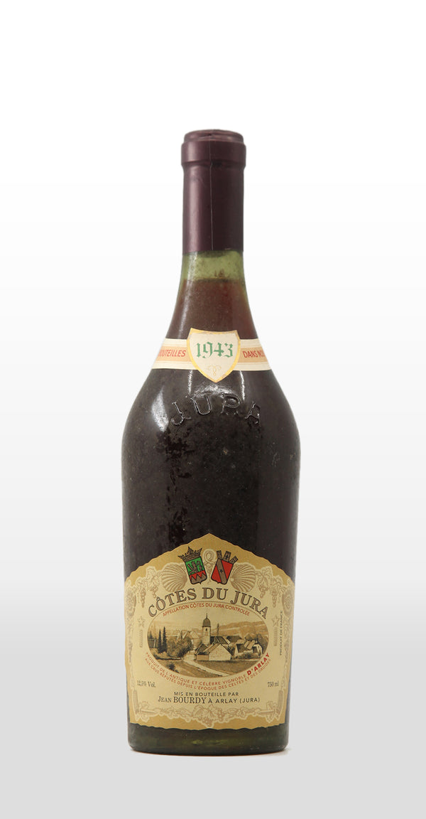 JEAN BOURDY COTES DU JURA ROUGE 1943 750ML