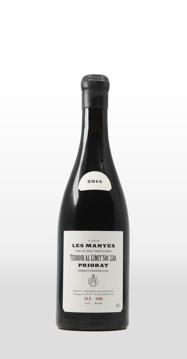 TERROIR AL LIMIT PRIORAT DOQ LES MANYES 2014 750ML