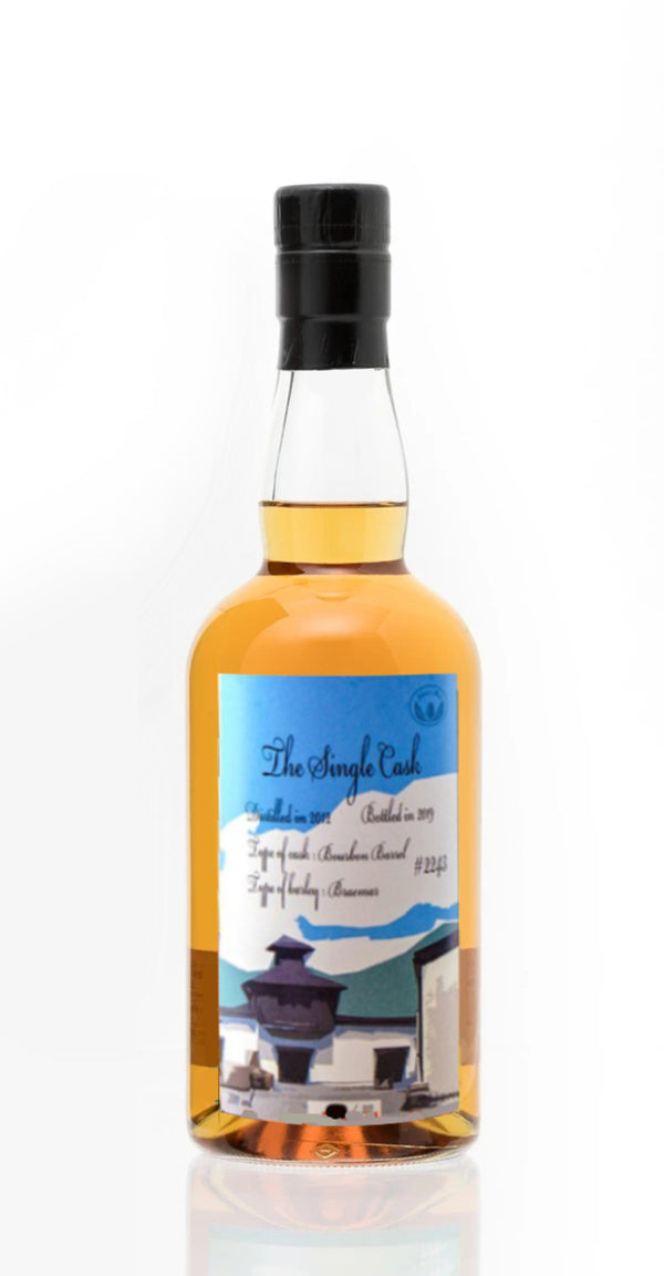 CHICHIBU - THE SINGLE CASK (2012-2019), CASK #2243 BOURBON CASK/BRAEMAR BARLEY FOR MODERN MALT WHISKY MARKET 700ML