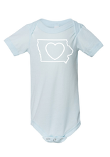 Load image into Gallery viewer, Baby_Iowa Love Onesies and Tees
