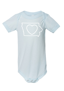 Baby_Iowa Love Onesies and Tees