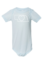 Load image into Gallery viewer, Baby_Nebraska Love Onesies and Tees