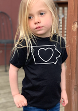Load image into Gallery viewer, Kids_Iowa Love T-Shirt