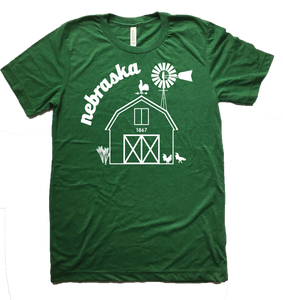 Nebraska Farm T-Shirt