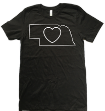 Load image into Gallery viewer, Nebraska Love T-Shirt