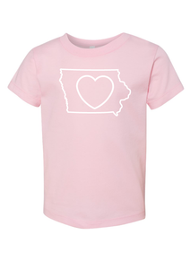Kids_Iowa Love T-Shirt