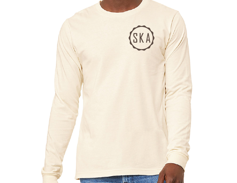 Secret Kindness Agents - Long Sleeve Badge Tee