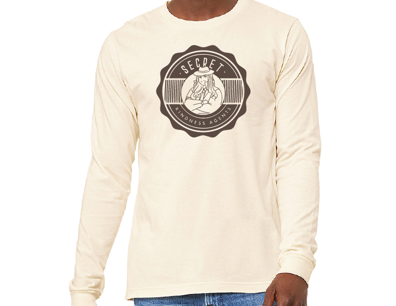 Secret Kindness Agents - Long Sleeve Logo Tee