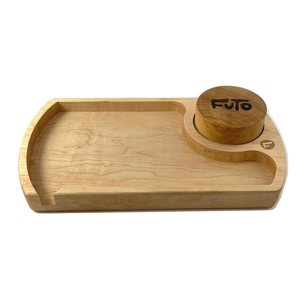 Futo Maple Rolling Tray & Grinder
