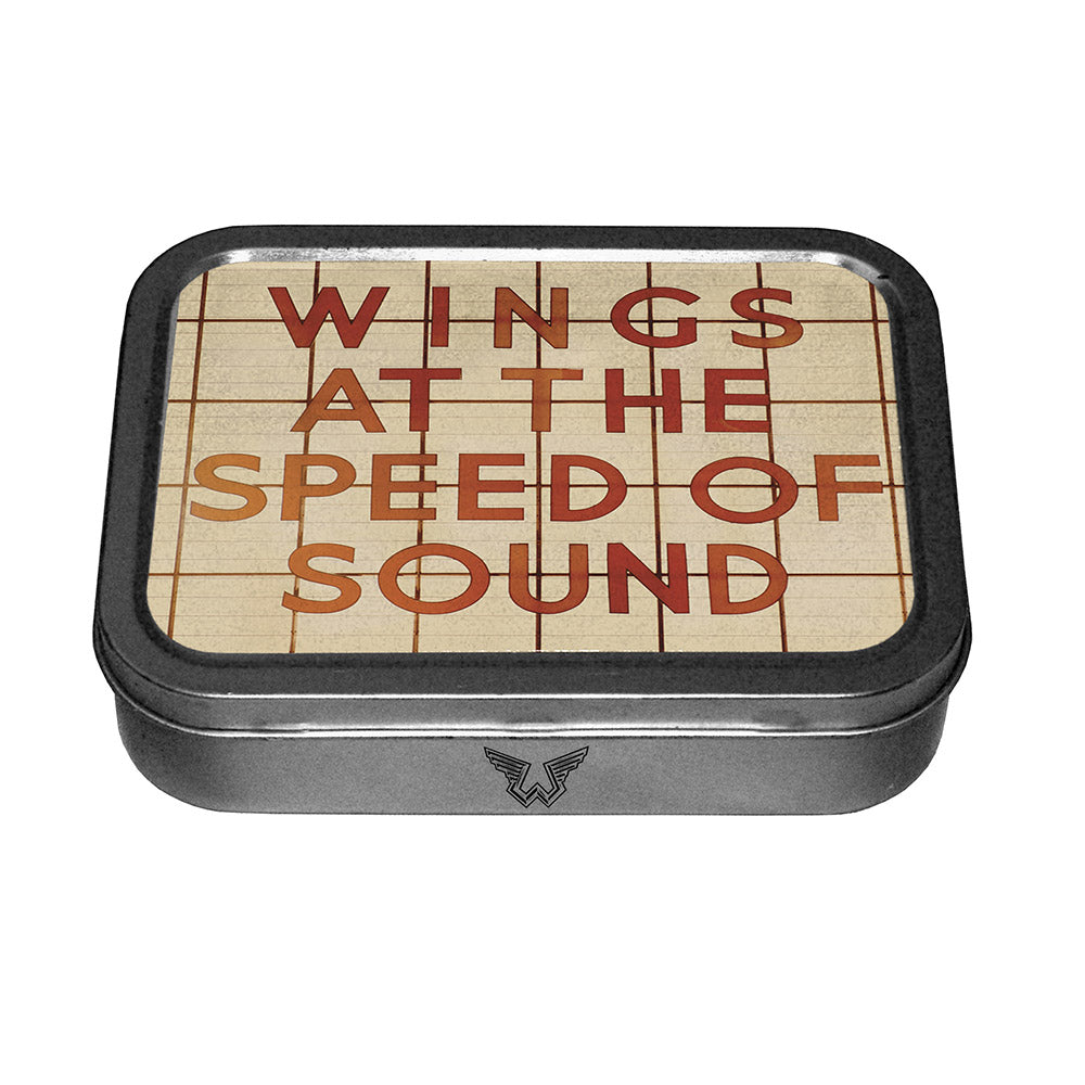 Wings Small Stash Tin