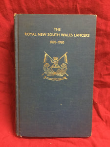 The Royal New South Wales Lancers 1885-1960: Incorporating a narrative of the Light Horse Regiment, A.I.F. 1914-18, P.V. Vernon (ed.), 1961, Royal New South Wales Lancers, Sydney.