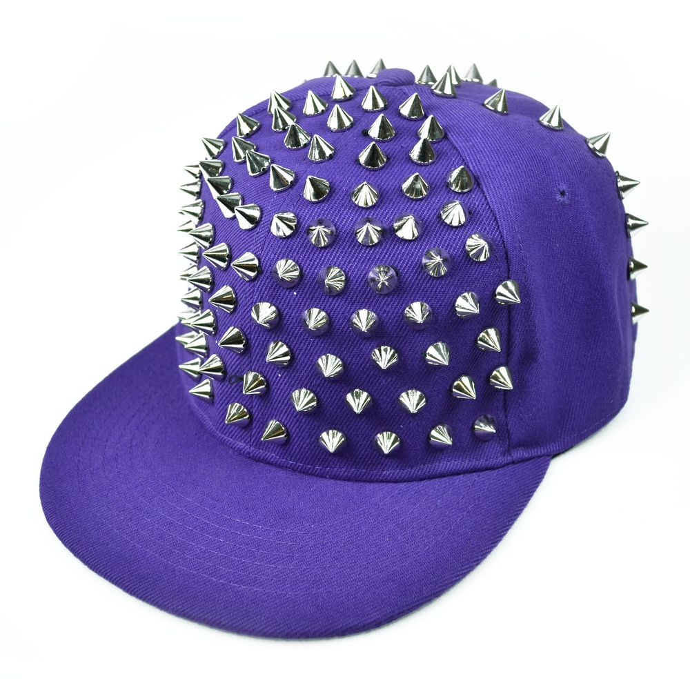X Spike Purple Cap