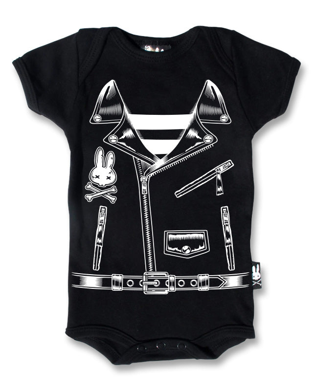 Liquor Brand Rocker Jacket Romper
