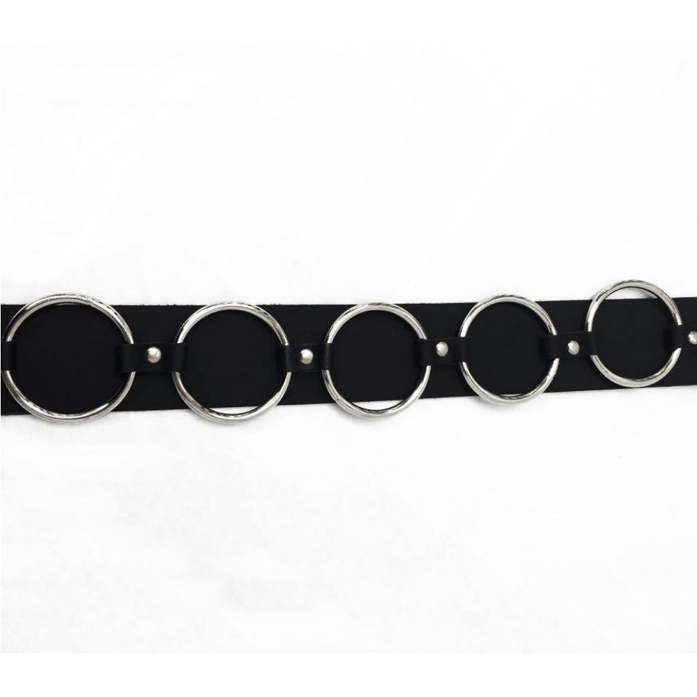 B366 - Ring Leather Belt