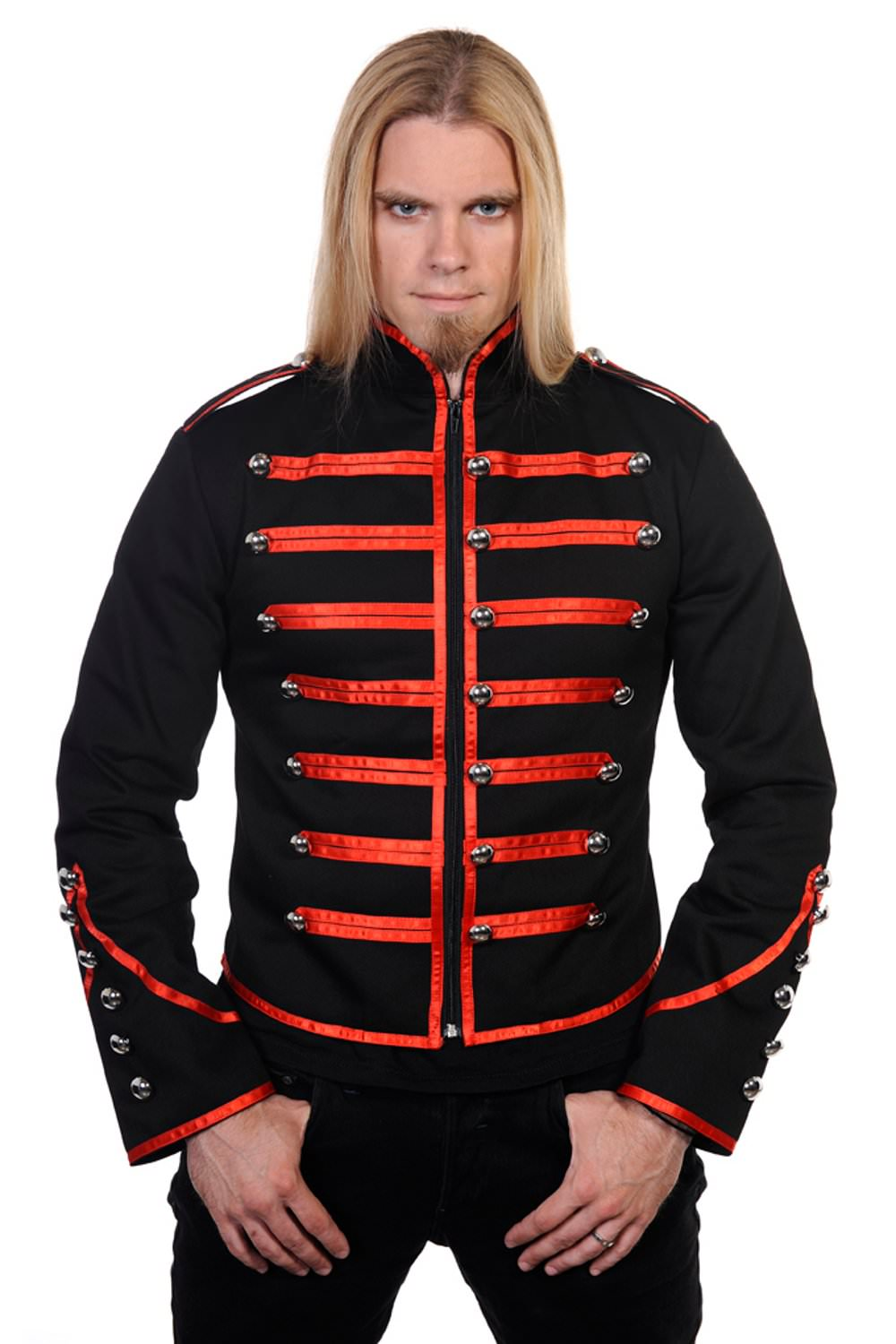 Red Military Drummer Jacket