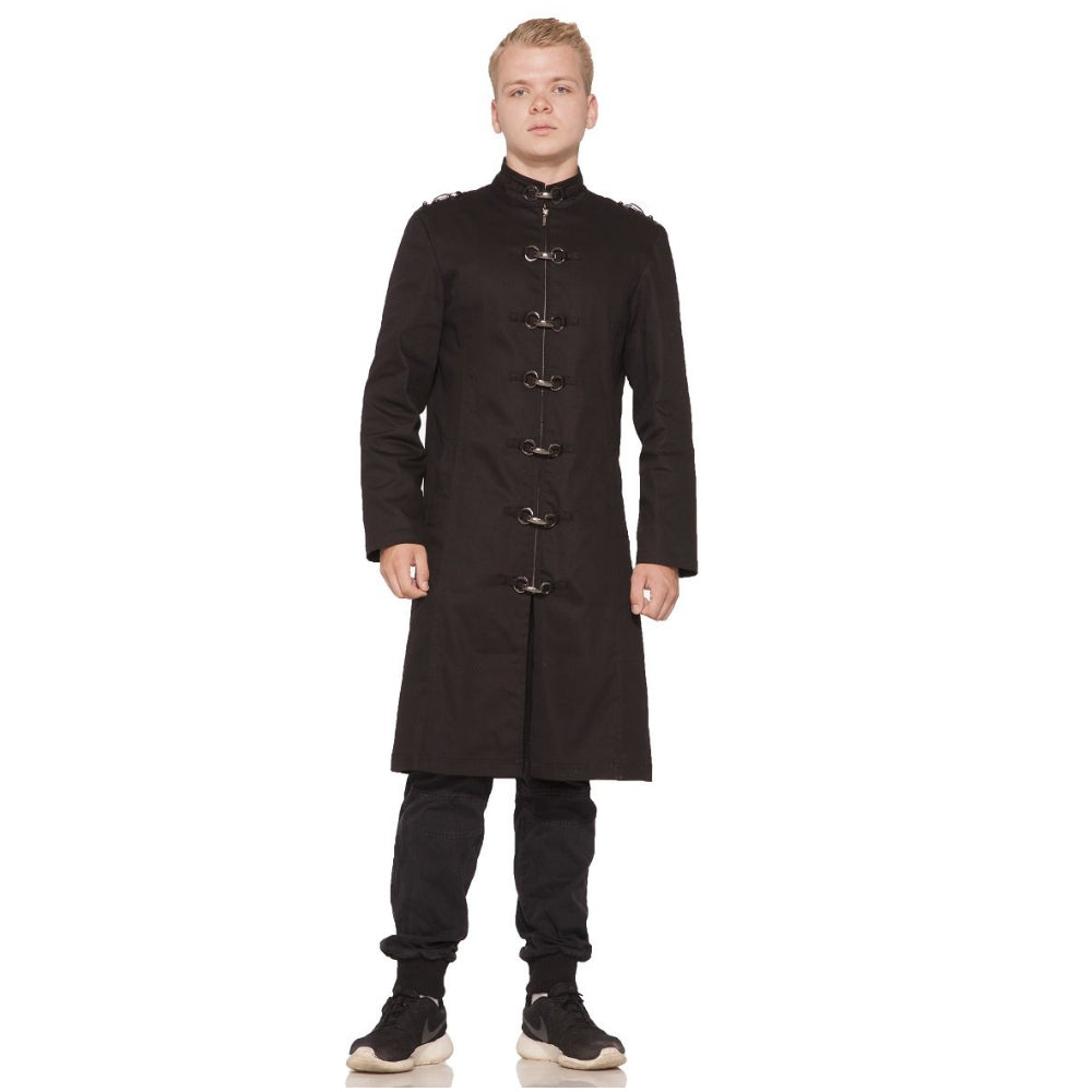 H&R Black Strait Coat