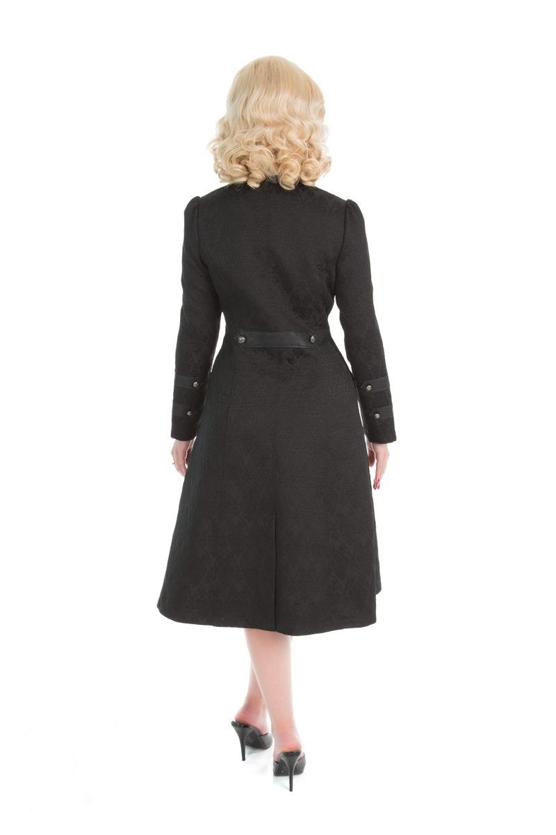 H&R Bernia Brocade Coat