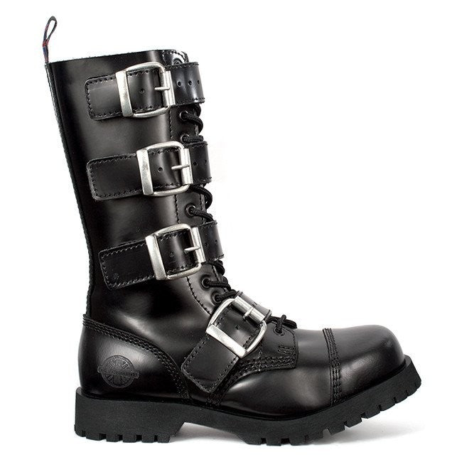 Nevermind 14H 4Buckles Leather Boot