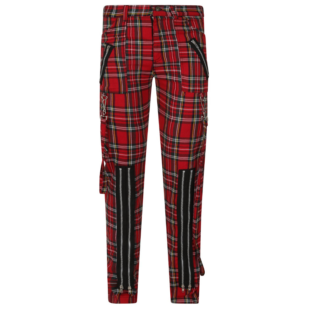 Avengence Check Mens Trousers