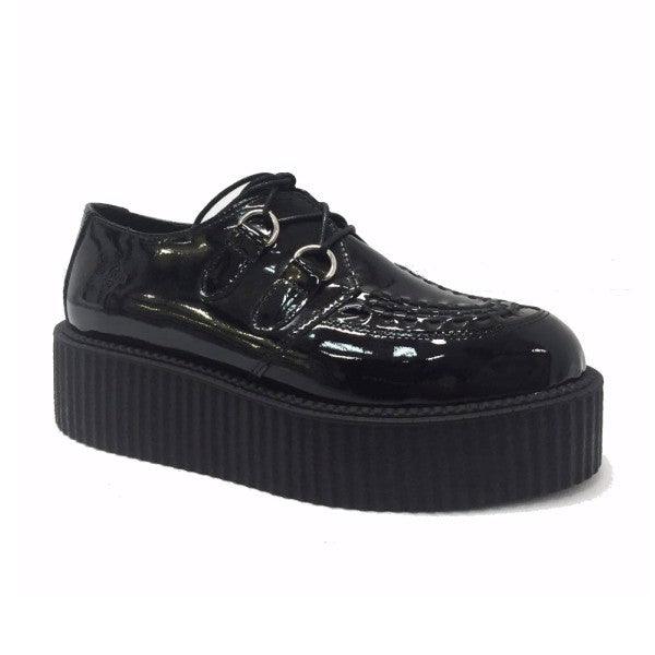 Nevermind Creeper UMD Black Patent Leather