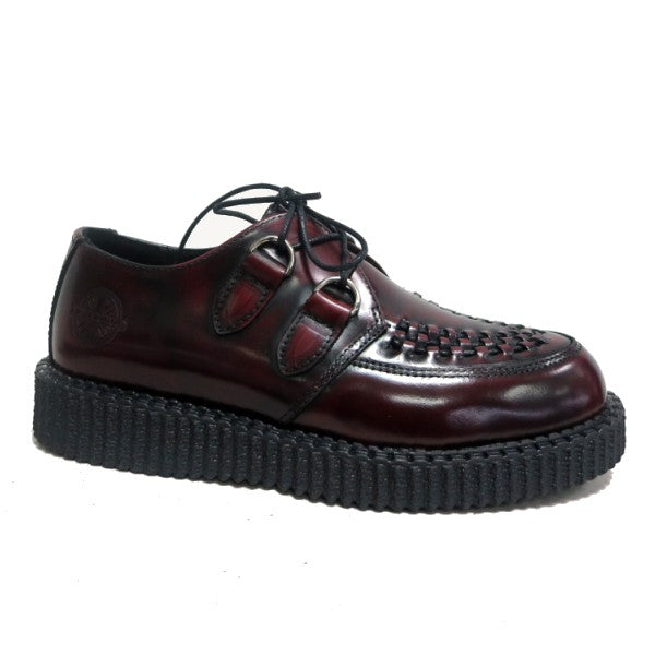 Nevermind Creeper Haley Bordeaux Leather