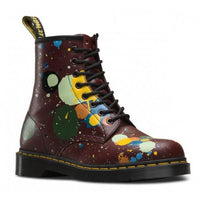 Dr. Martens Cherry Red Splatter Smooth