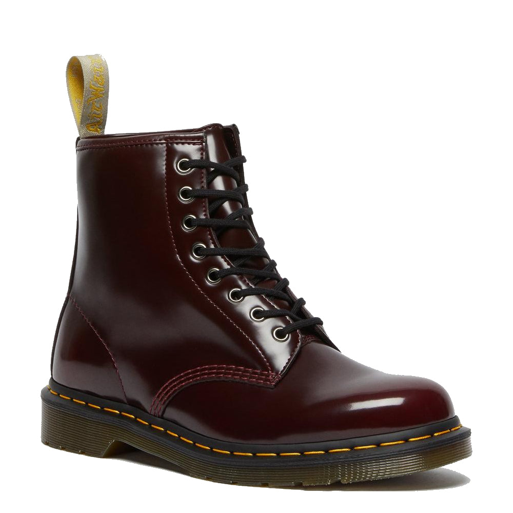 Dr. Martens Vegan Cherry Red Boot