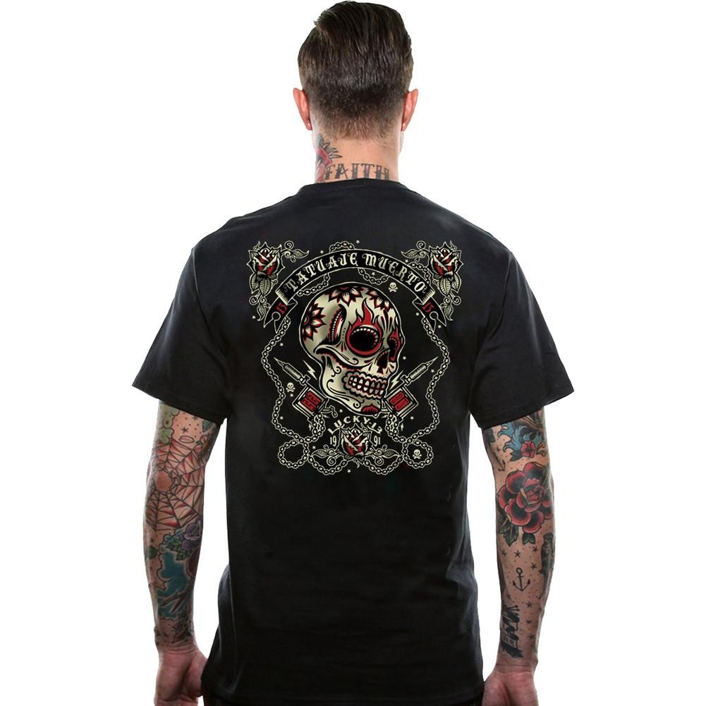 Lucky 13 Dead Tattoo T-shirt