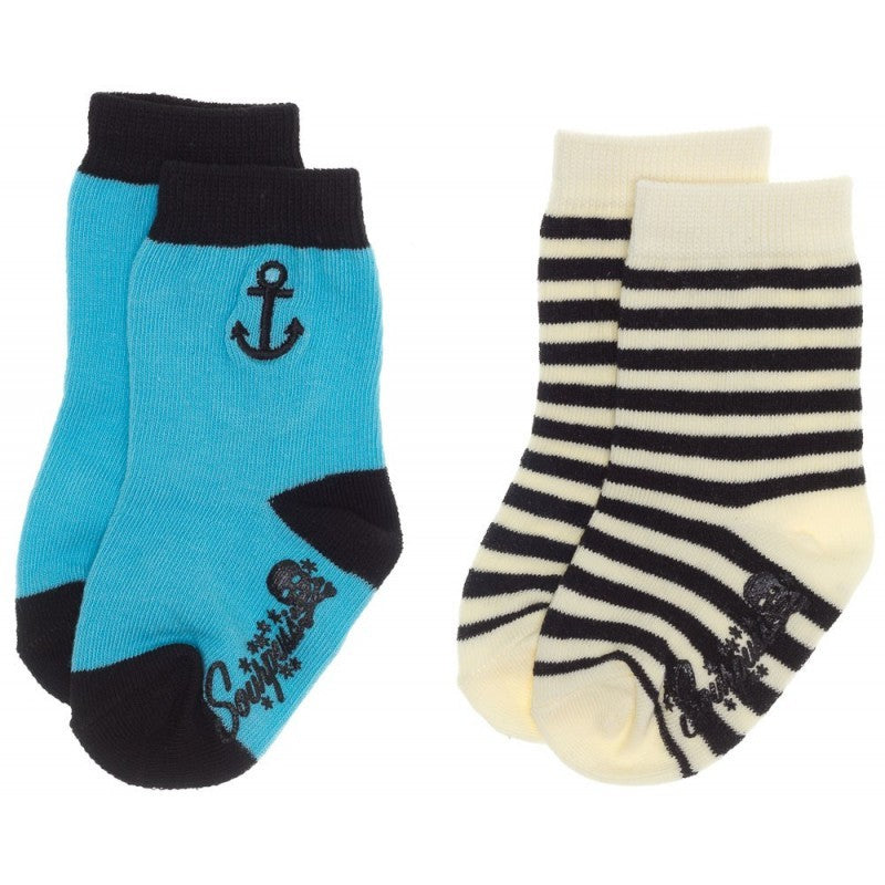 Sourpuss Anchor Kit Baby Socks