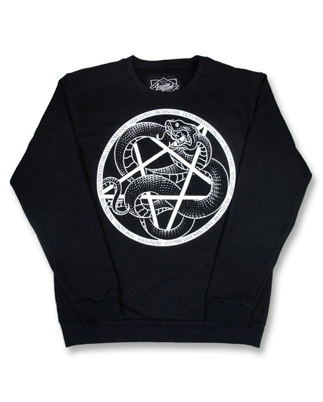 Liquor Brand Serpent Pentagram Sweater