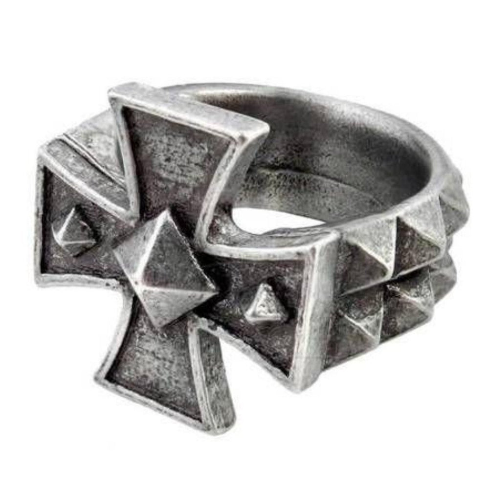 Alchemy England Cross of Iron Ring
