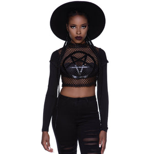 Killstar Apostasy Crop Top