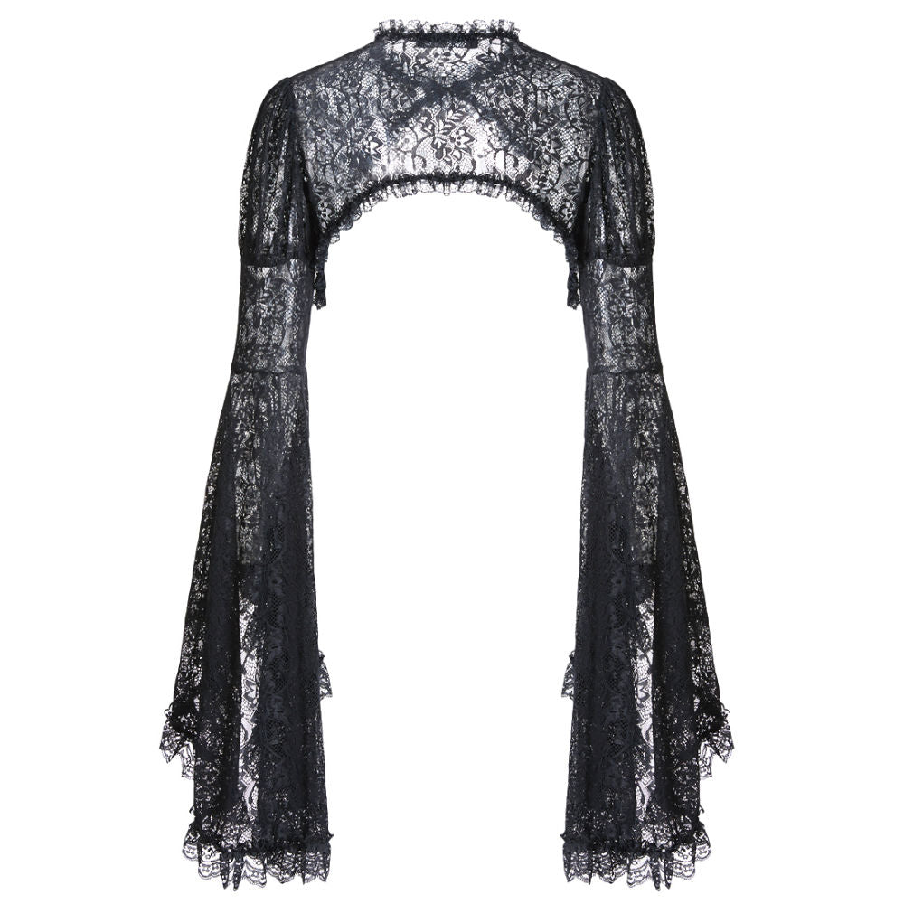 Gothic Lace Big Sleeves Cape