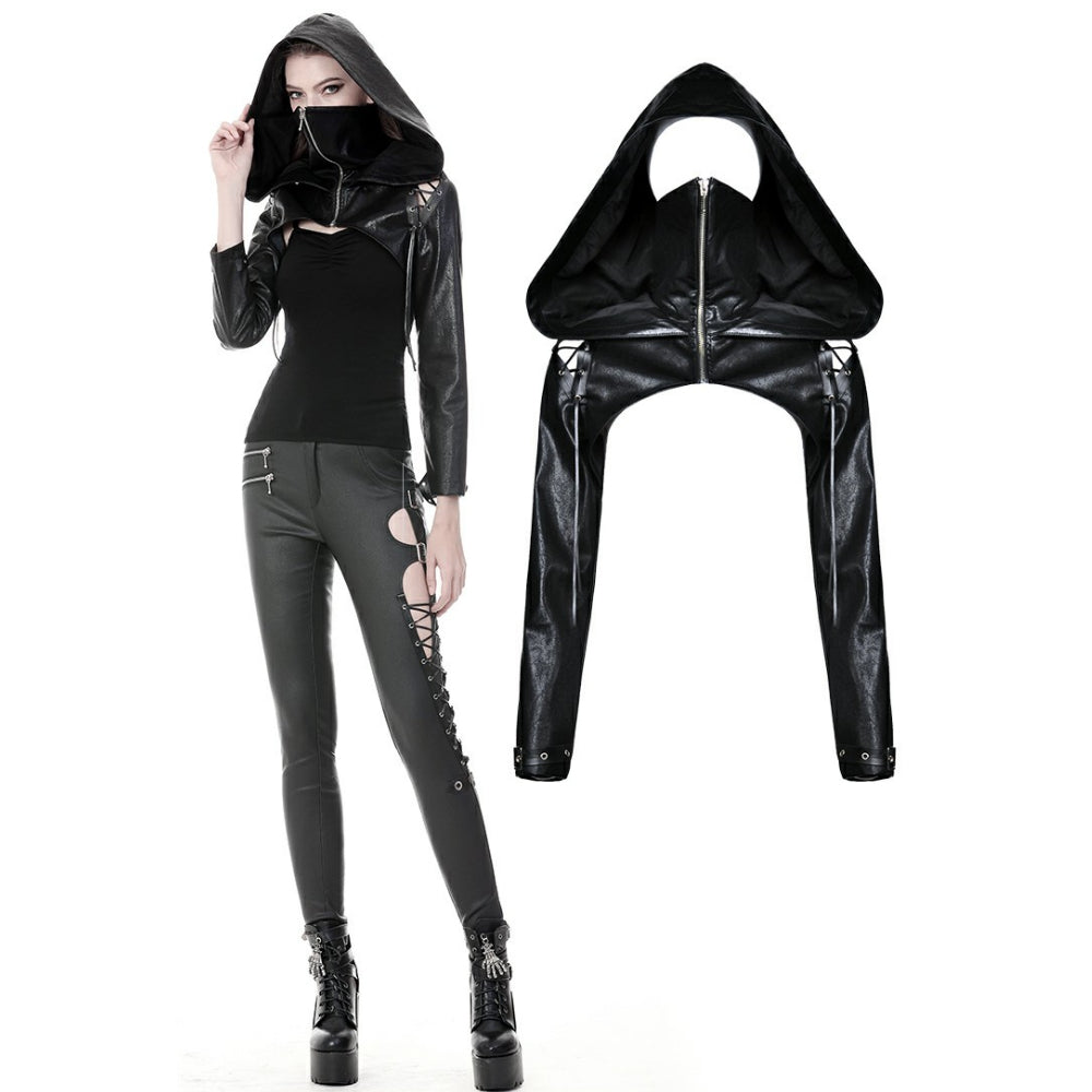 PU Masked Cape With Cap BW075
