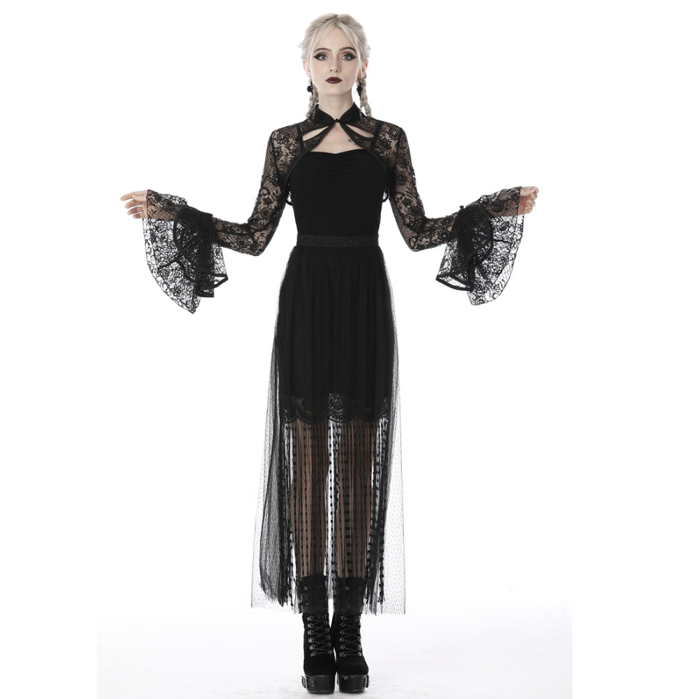 Gothic Lace Cape BW079
