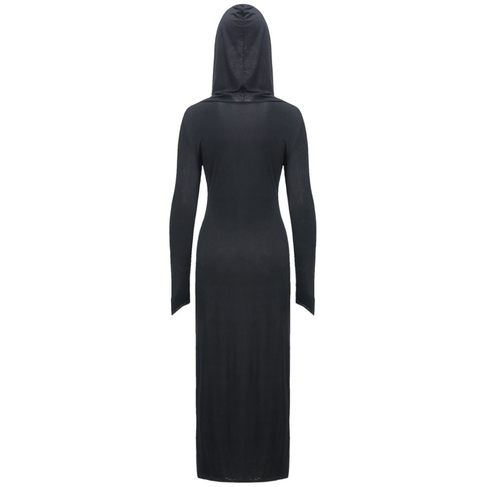 Gothic Cross Hooded Dress