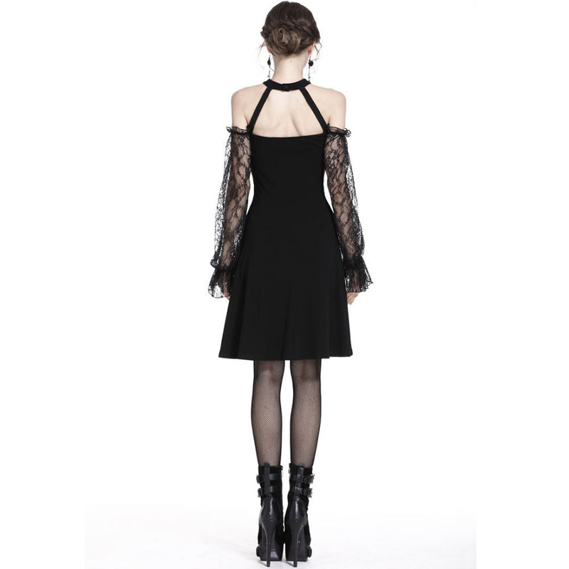 Gothic Lace-up Dress