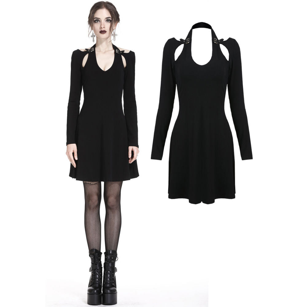 Punk Crossed Midi Dress