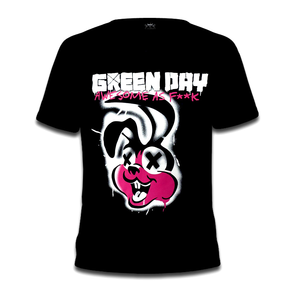 Green Day Awesome as F**k Tee