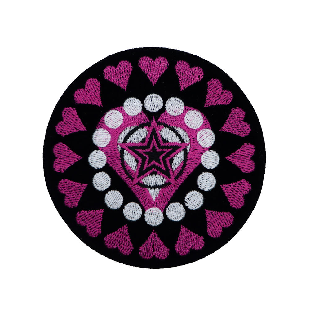 Heart Circle Patch