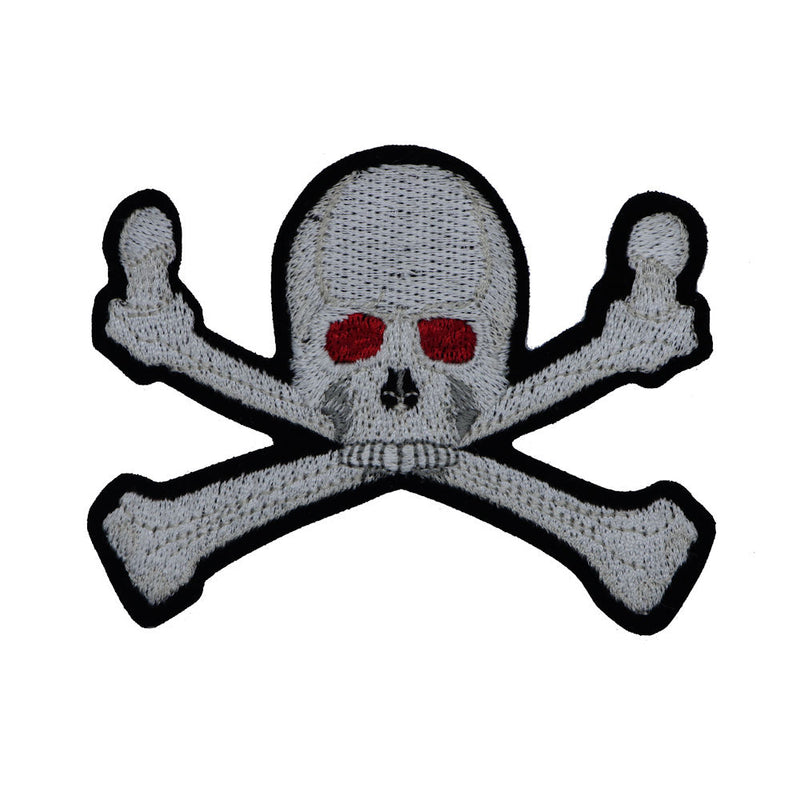 Skull Red Eyes Patch