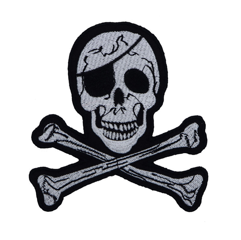 Skull Pirate Patch