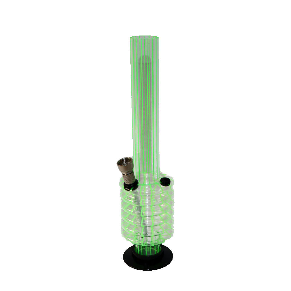 Striped Green Pipe