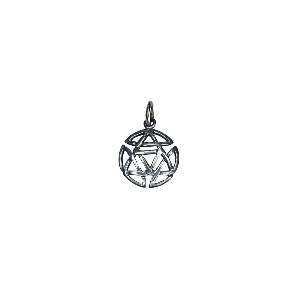 Mini Celtic Silver Knot Pendant