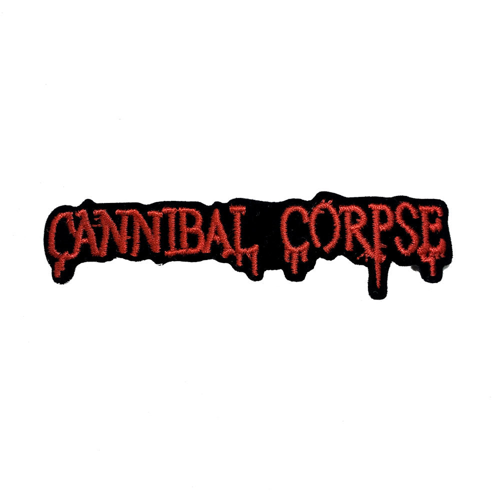 Cannibal Corpse Logo Patch