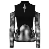 Killstar Iris Long Sleeve Top