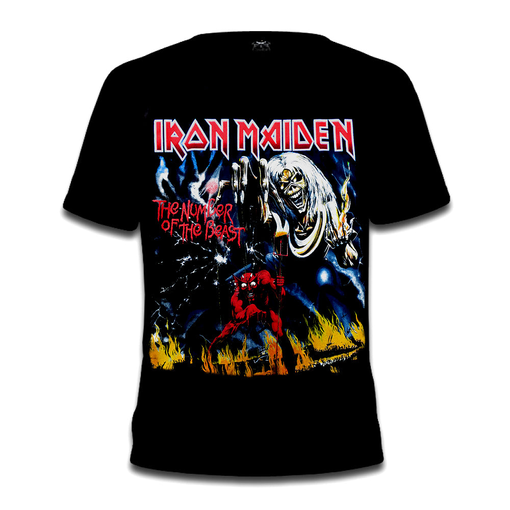 Iron Maiden Number Of The Beast Tee