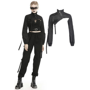 Punk Irregular Cape Coat