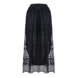 Casual Gothic Long Skirt
